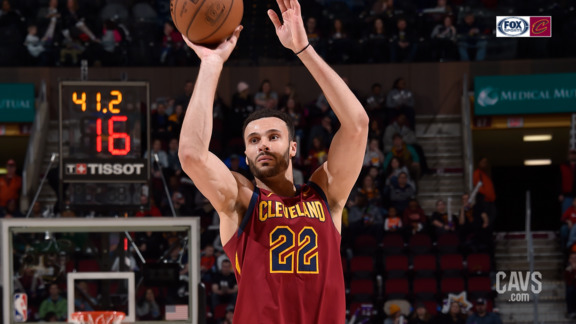 Cavs Get Hot From Downtown to Seal Win