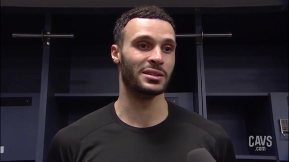 #CavsNets Postgame: Larry Nance Jr.