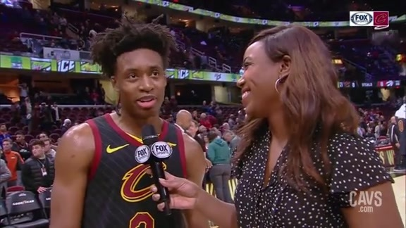 #CavsRaptors On-Court Postgame: Collin Sexton