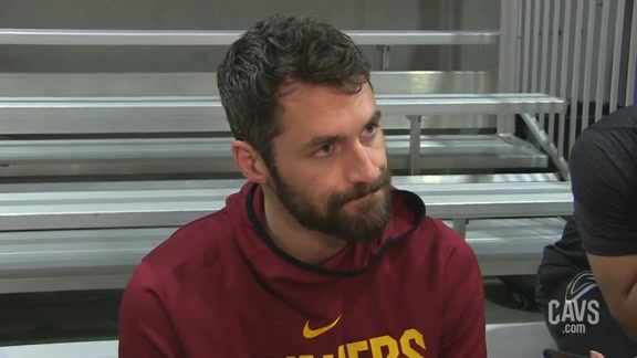 #CavsMagic Shootaround: Kevin Love