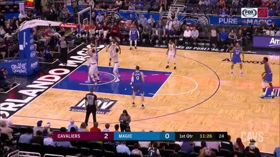 Kevin Love Sends the Shot Away
