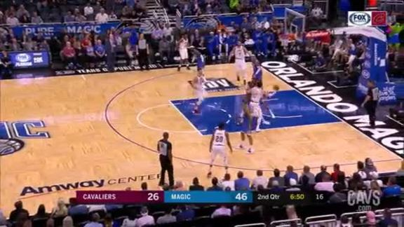The First Cedi Connects on Hook Shot