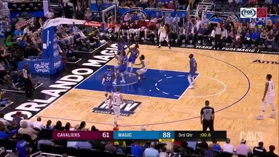 Clarkson Scores at the Third-Quarter Buzzer