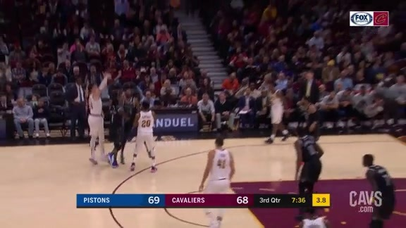 Cedi Knocks It Down from Deep in The Q