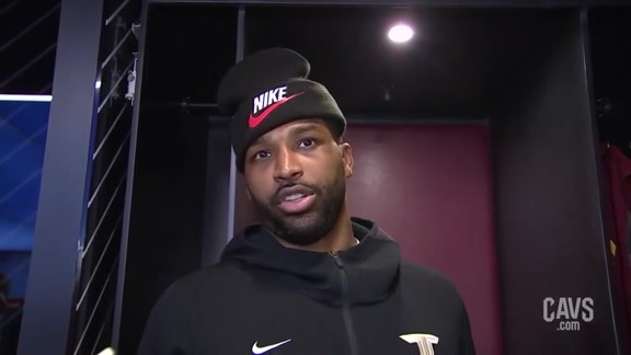 #CavsBucks Postgame: Tristan Thompson