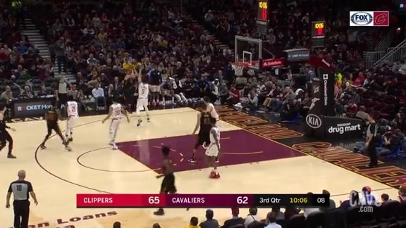 KLove Buries the Corner Trey