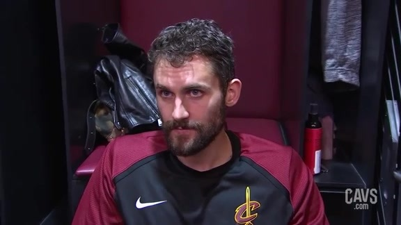 #CavsClippers Postgame: Kevin Love