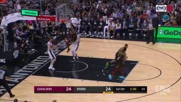 David Nwaba with the Putback Slam
