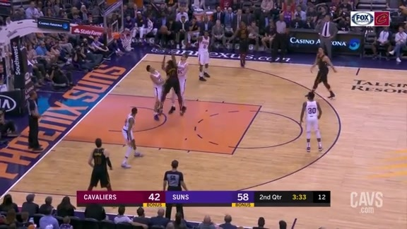 Tristan Finishes Strong Through Contact