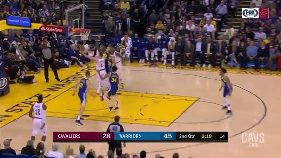 Stauskas Finishes with the Left