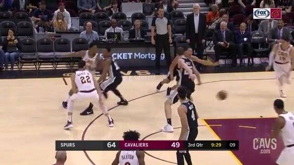 Larry Dimes Cedi on a Heads-Up Play