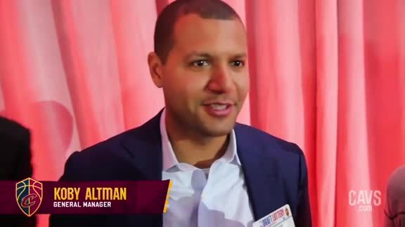 Koby Altman Talks Lottery, Beilein and More