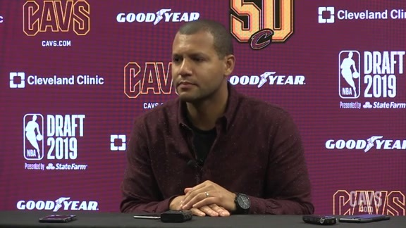 Koby Altman Discusses the NBA Draft