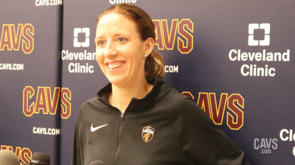 Lindsay Gottlieb Media Availability