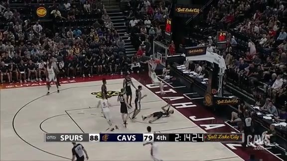 Dean Wade with the Emphatic Flush