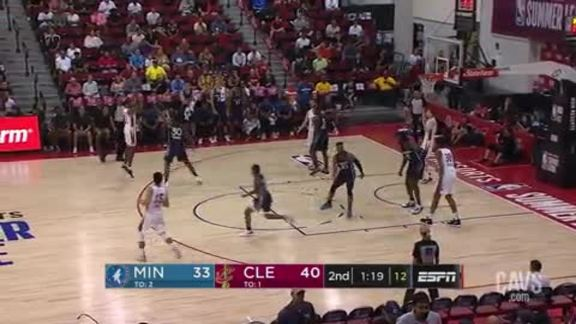 Cavs Can Three-Straight Treys in Second Quarter
