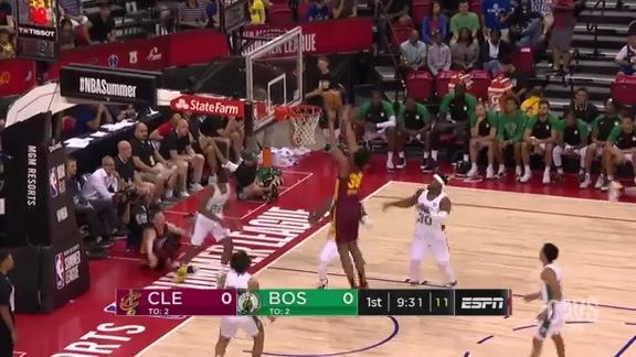 Bolden Opens Up Game with Dunk