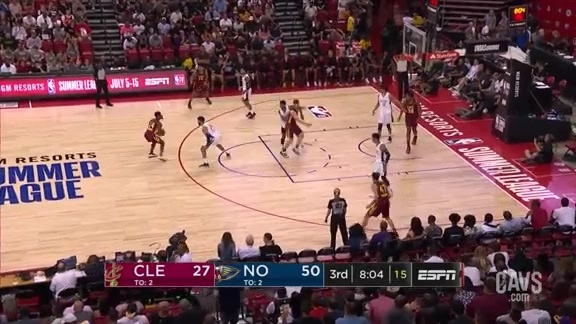 Cavs Heat Up From Downtown in the 3Q