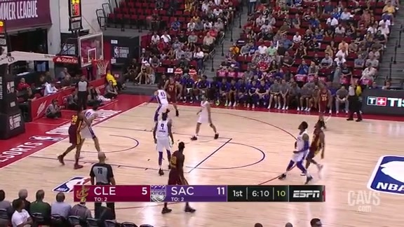 Malik Newman Drains the Trey