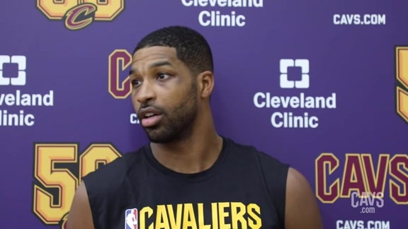 Training Camp Day 6: Tristan Thompson