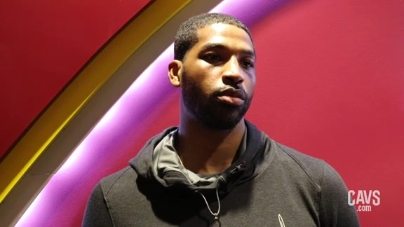 Post-Scrimmage: Tristan Thompson