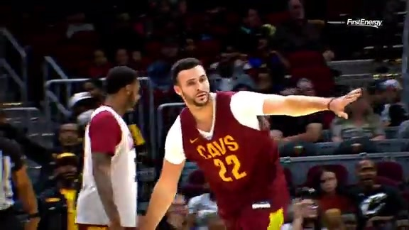 Cavs and Fans Enjoy Fun Scrimmage at Rocket Mortgage FieldHouse