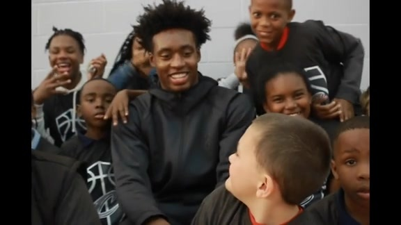 Behind-the-Scenes from Sexton's Boys & Girls Club Visit
