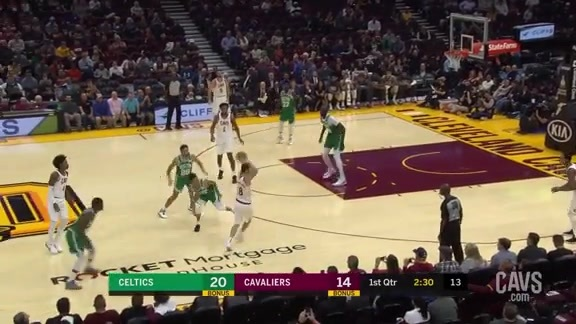 Clarkson Buries the Three