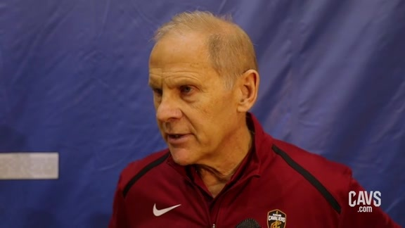 Cavs at Magic Shootaround: Coach Beilein
