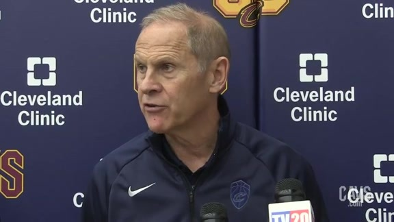Cavs vs. Pacers Practice: Coach Beilein