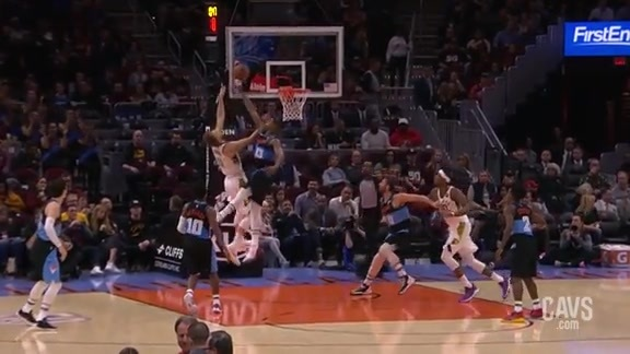 Tristan Thompson with a Big-Time Block
