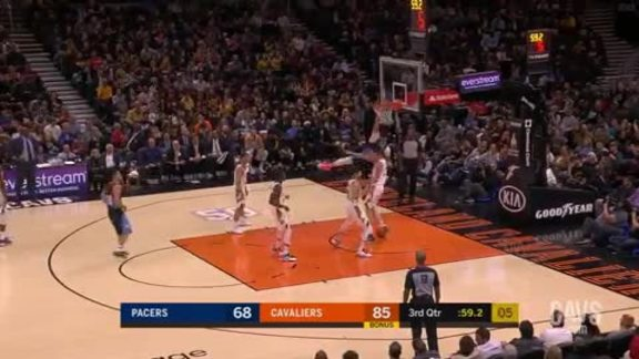 Featured Highlight: Nance Jr. Posterizes the Pacers