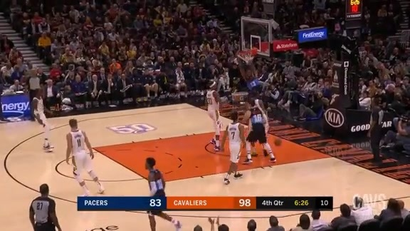 Tristan Throws Down Third Alley-Oop of the Night