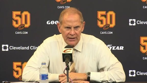 Cavs vs. Pacers Postgame: Coach Beilein