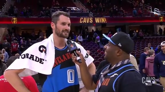 Cavs vs Pacers Postgame: Kevin Love