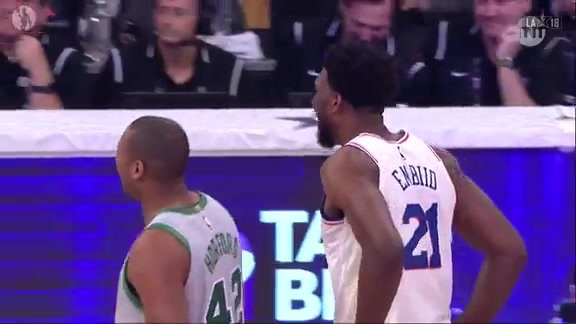 Horford Faces Embiid in Skills Challenge