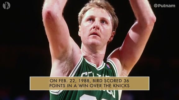 2/22 Putnam Celtics Daily: Record Breaking Bird