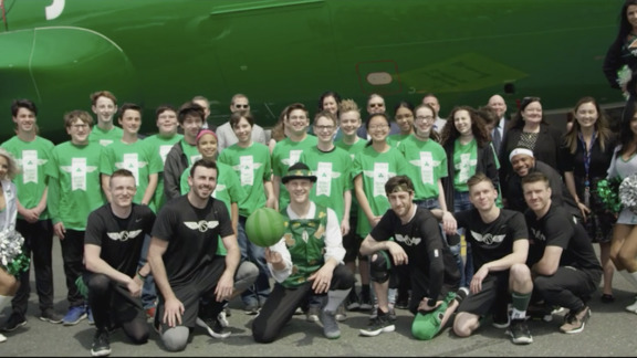 C's Take Flight with JetBlue