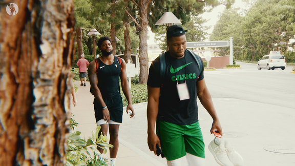 Day In The Life: Guerschon Yabusele