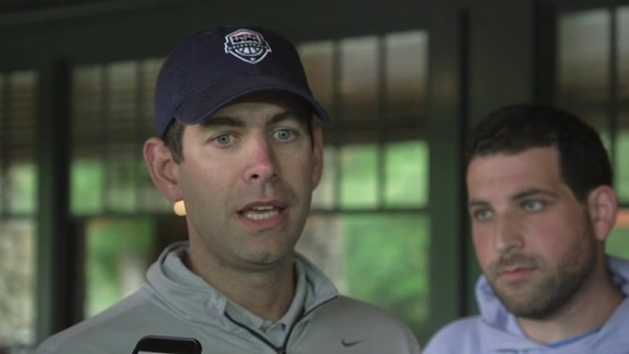 Brad Stevens Talks at BCSF Golf Tournament