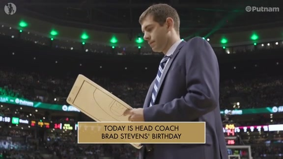 10/22 Putnam Celtics Daily: Happy Birthday Coach