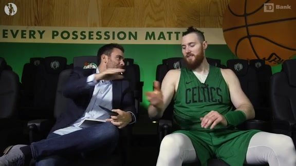 11/14 TD Bank Film Study: Baynes Stretching Floor
