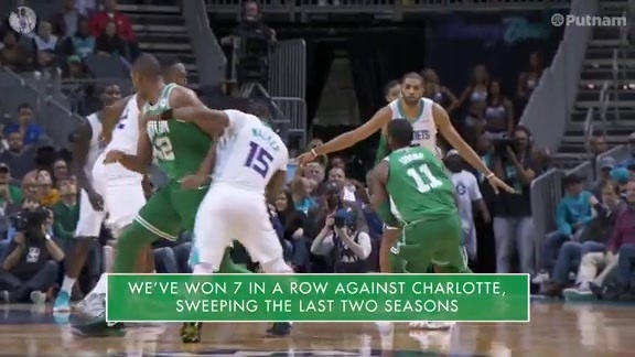 11/19 Putnam Celtics Daily: On to Charlotte