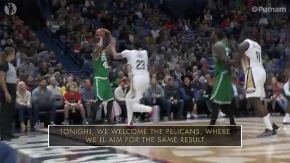 12/10 Putnam Celtics Daily: Pelicans Preview