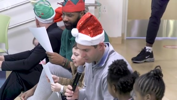 Celtics Visit Boston Children's Hospital
