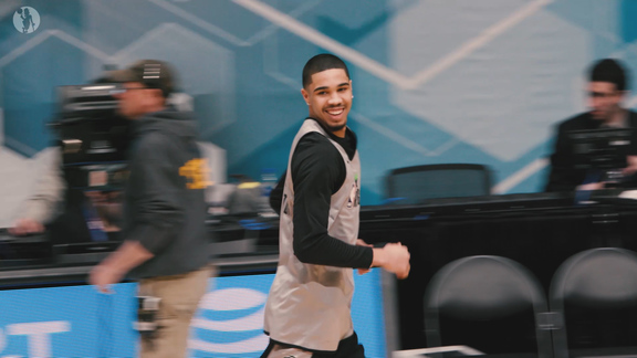 2/15 Rising Stars Practice: 'Happy To Be Here'