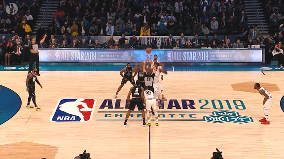 2/17 All-Star Game: Surrounded By Greatness