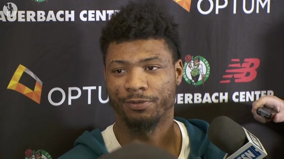 5/9 Exit Interview: Marcus Smart
