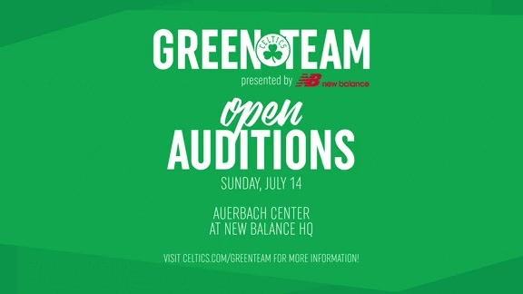 2019-20 Celtics Green Team Auditions