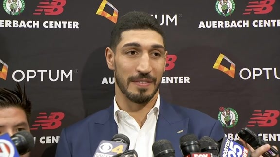 Enes Kanter Interview